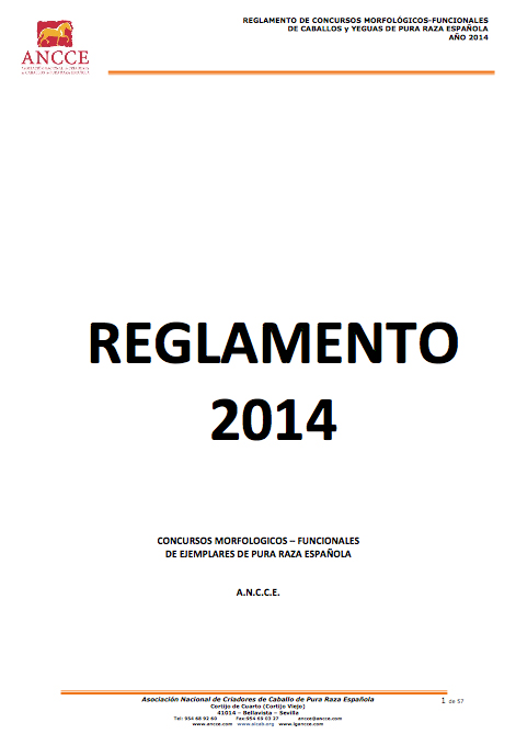 ANCCE Rule Book 2014
